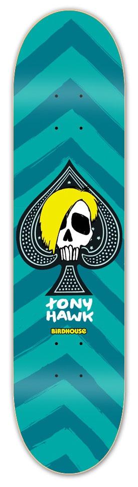 Birdhouse McSqueeb blue-green #tonyhawk #birdhouse #skateboard