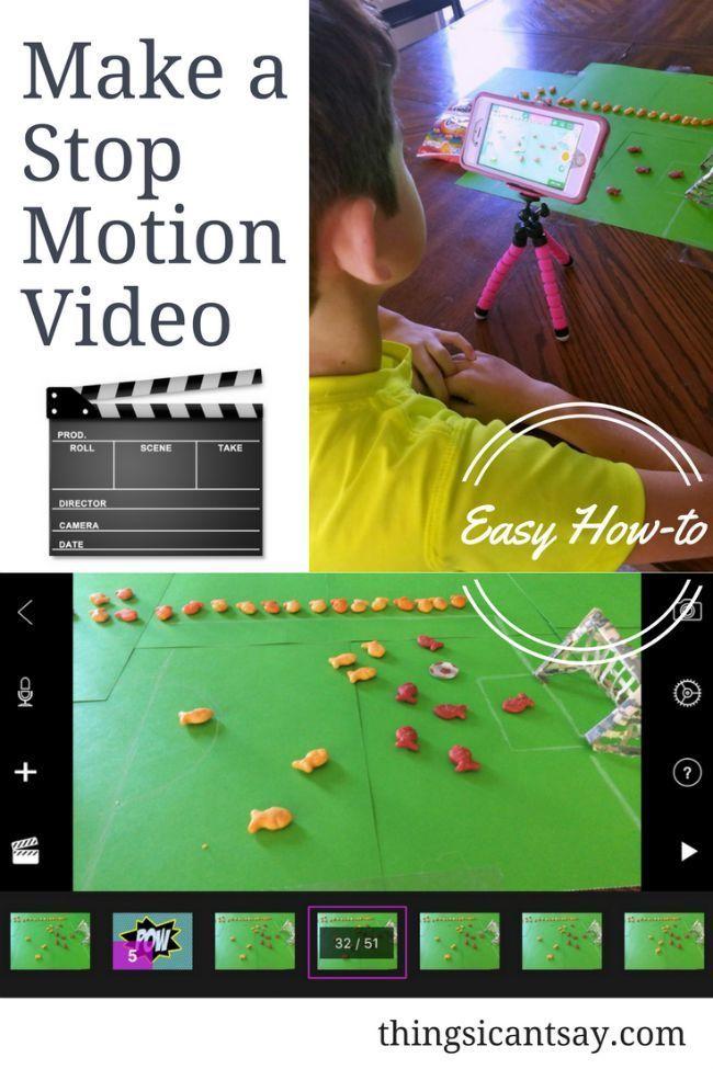 So erstellen Sie mit Ihren Kindern ein StopMotionVideo