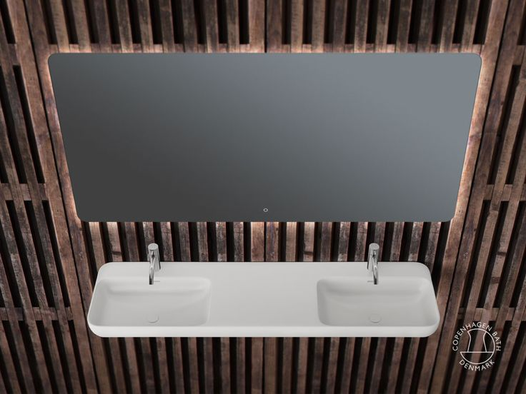 """Enø 150"" wash basin from Copenhagen Bath."