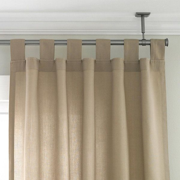 about Ceiling Curtain Rod on Pinterest | Ceiling Curtains, Curtain ...