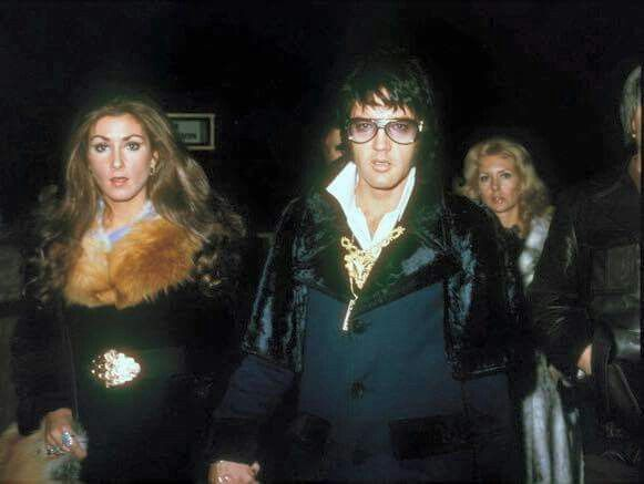 Elvis and Linda Thompson  February 1973