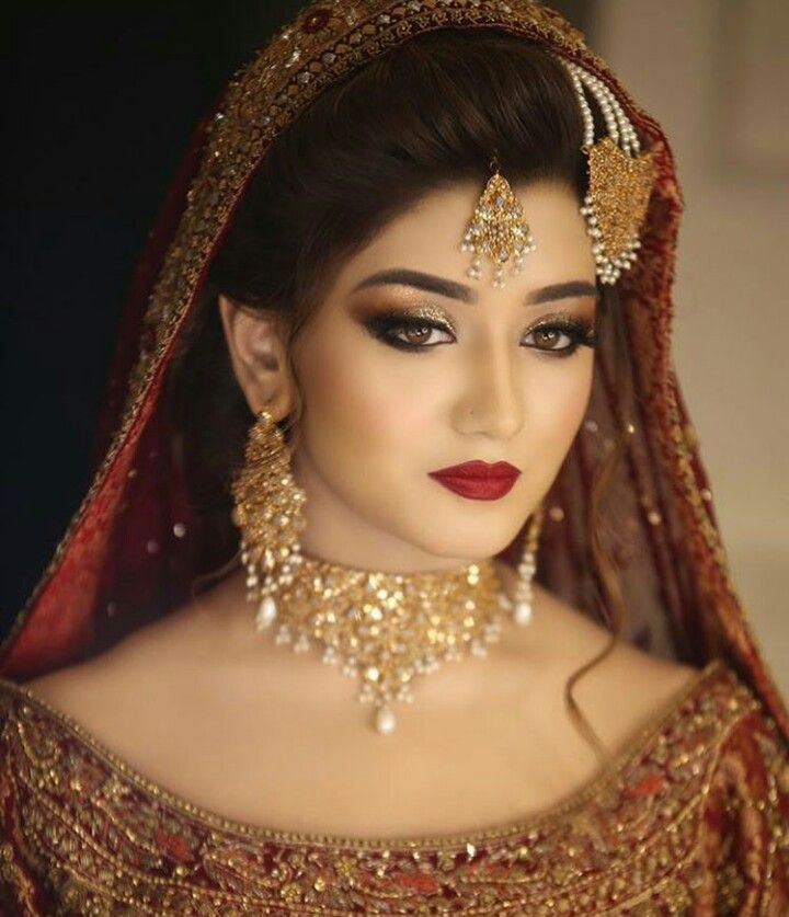 Hindu Bridal Hairstyles 14 Safe Hairdos For The Modern: Perfect Bridal Makeup For A Pakistani Bride