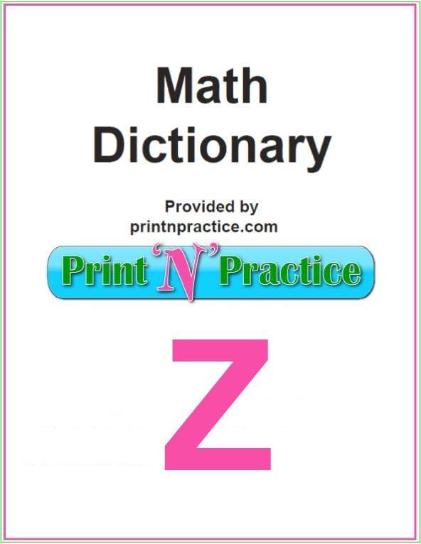 Math Words That Start With Z: Zero, Zodiac, Zone