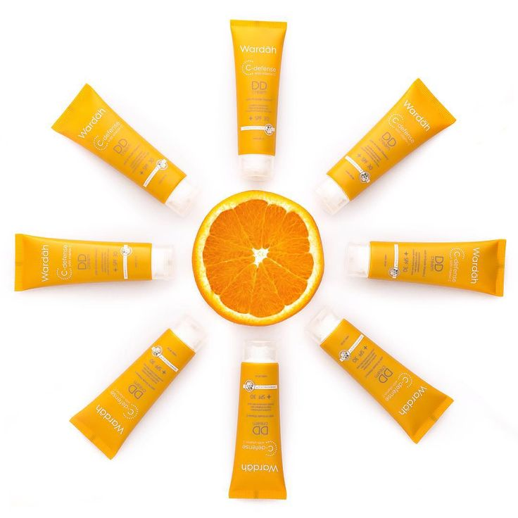 """Cerahkan kulitmu dg perlindungan kulit dari wardah C Defense DD Cream yang mengandung Hi-Grade Vitamin C!  Membantu kulitmu tangguh luar dan dalam lho…"""