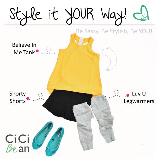 Gymnastics CiCi Style! | CiCi Bean - clothing for tween girls. | Contact your local Play Stylist or shop online at www.peekaboobeans.com | #cicibeanstyle