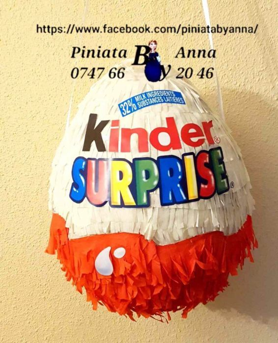 Piniata Kinder Surprise egg Iasi • OLX.ro