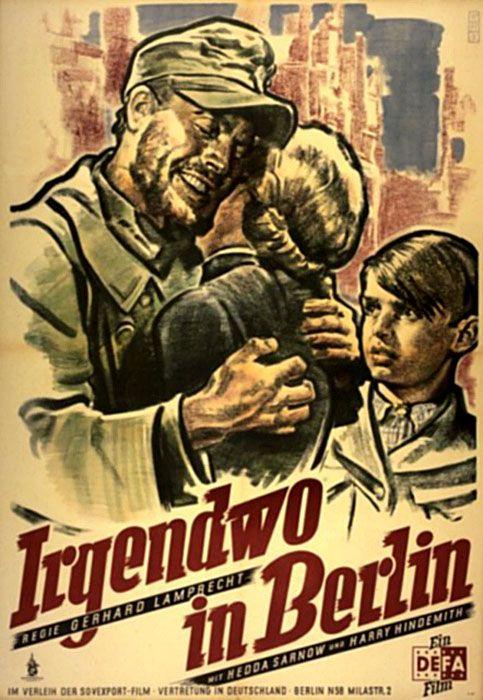 """Somewhere in Berlin (1946) """"Irgendwo in Berlin"""" (original title) Stars: Charles Brauer, Hans Trinkaus, Siegfried Utecht ~  Director: Gerhard Lamprecht"""