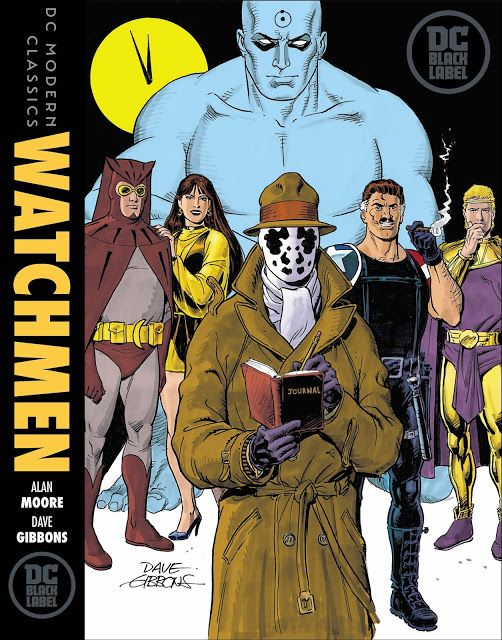 a49fa65043c6 Weird Science DC Comics  DC Black Label adding Watchmen