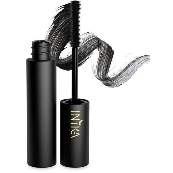 Inika Organic Vegan Mascara (Multiple Colors) ❤ liked on Polyvore featuring beauty products, makeup, eye makeup, mascara, inika and mineral mascara