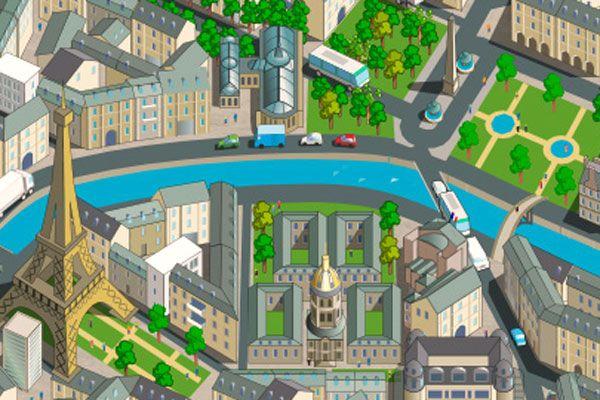 Un jeu interactif pour diminuer le CO2 à Paris
