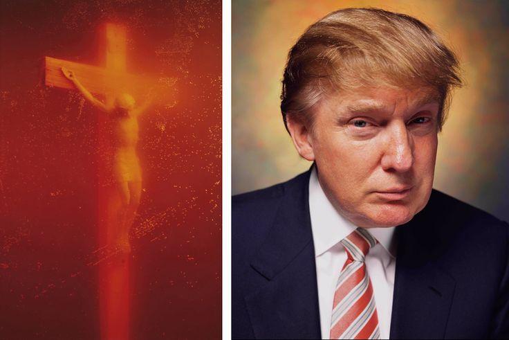 Andres Serrano (American b.1950) Piss Christ (1987) Untitled (2004)