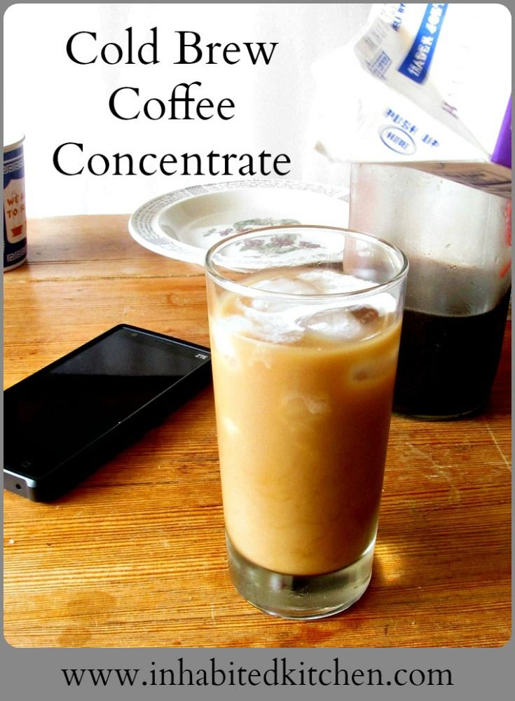 Best 25+ Cold brew coffee concentrate ideas on Pinterest ...