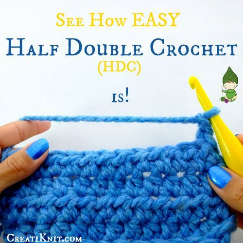 How Easy is it to HDC? (Half Double Crochet)  See here: http://www.creatiknit.com/blog/crochet-tutorials/how-easy-is-it-to-hdc-half-double-crochet/