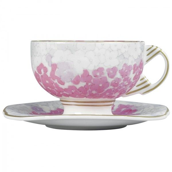 Harlequin Collection Deco Bloom Cup and Saucer