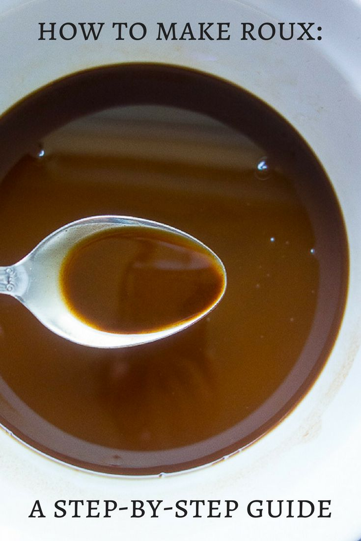 How to make roux: a step-by-step guide. Perfect for making gumbo, gravy, béchamel, etouffee, soups and stews. Thickens and adds amazing flavors to your dish!    roux recipe | how to make roux | louisiana style roux | southern roux recipe | gumbo recipe | roux for soup | homemade roux | easy roux | easiest way to make roux | quick roux | dark roux | blond roux | light roux | medium roux via @Went Here 8 This