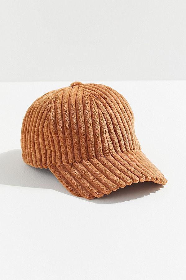597794149d51b0 Ribbed Corduroy Baseball Hat in 2019   Accessories   Hats, Baseball ...