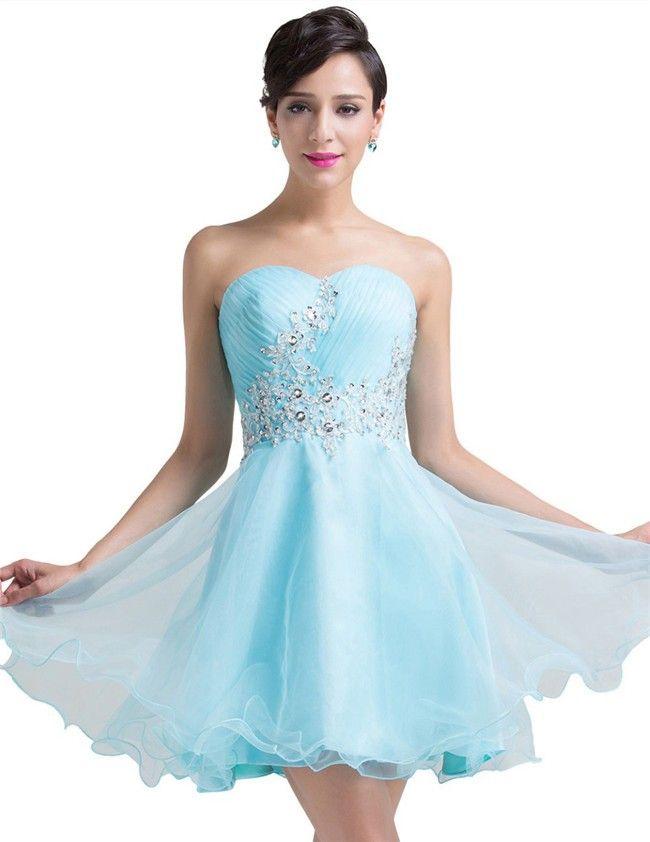 18 best light blue prom dresses images on pinterest