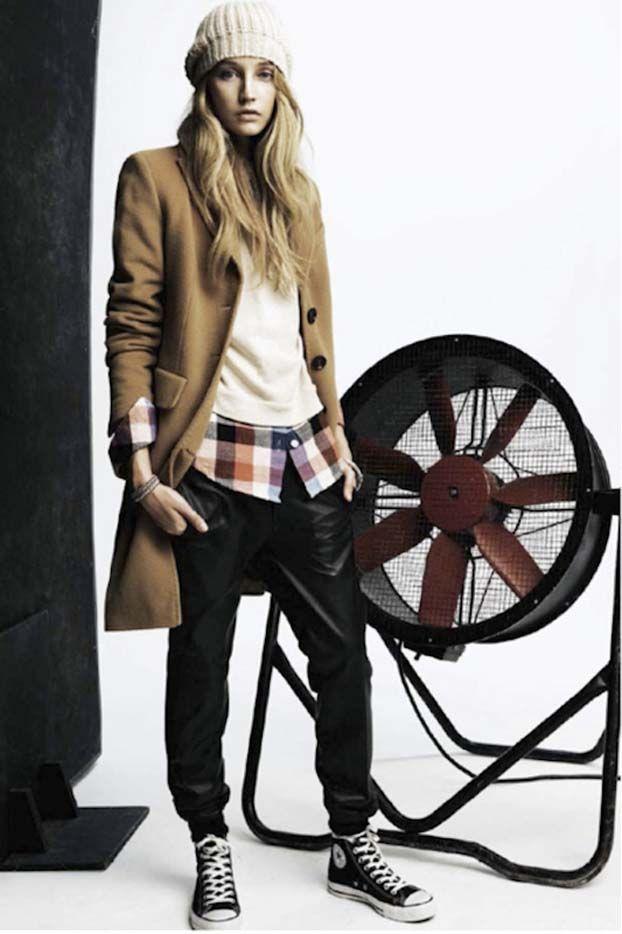 COMPARTE MI MODA: La moda femenina desde el punto de vista de las usuarias...: Pantalones Chandaleros...