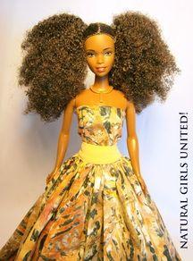 Natural Hair Dolls - Natural Girls United!