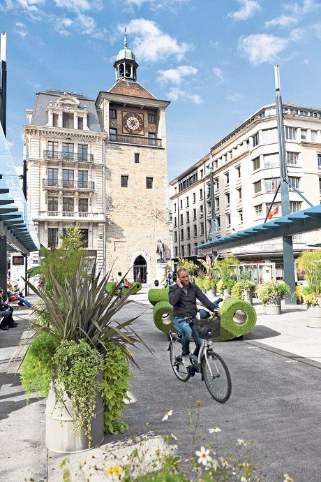#Fietsen in #Genève, #cycling