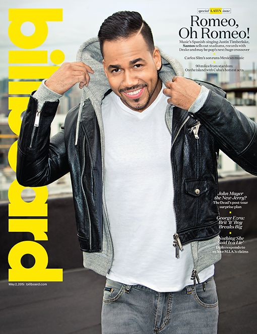 Billboard Cover: Romeo Santos on Selling Out Stadiums 'Like Beyonce,' Rumors About His Sexuality and Manning Up as a Father