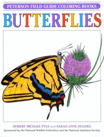 Field Guide To Butterflies Peterson Coloring Books By Roger Tory