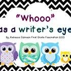 """""""Whooo"""" has a writer's eye? Writing Posters"""