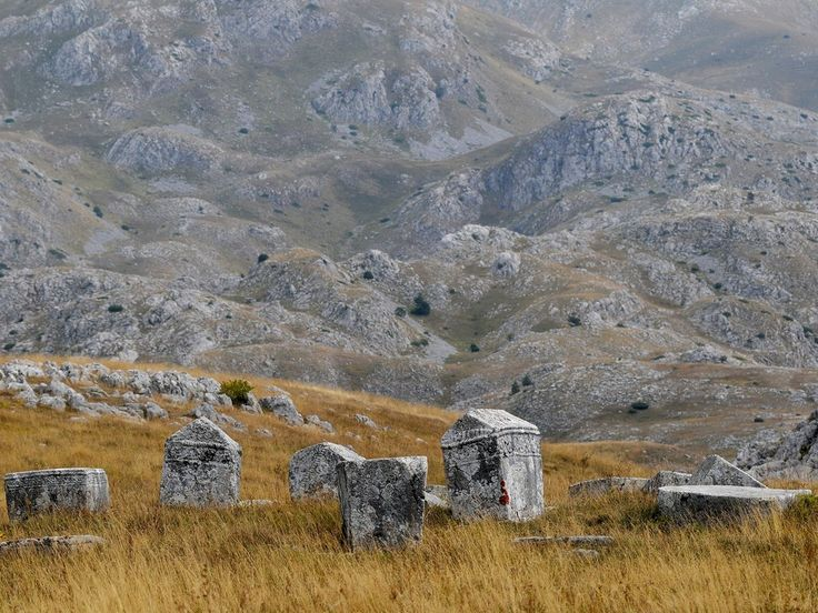 Stećci, or medieval limestone grave markers, are notable in the former Yugoslavian countries, meaning that four of them (Croatia, Bosnia and Herzegovina, Serbia, and Montenegro) share the UNESCO honor.