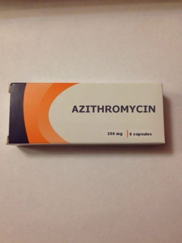 Health Care 177798: 10Pcs X 6Caps Azithromycin 250Mg. Exp. Date 01 2020 Ship 12-25 Days To Usa -> BUY IT NOW ONLY: $54 on eBay!