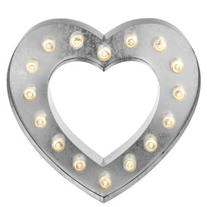 Lit Heart Sign #LauraAshley