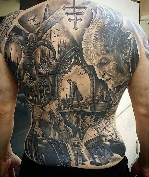 50 Best Full Back Tattoos Designs and Ideas  – Tattoos