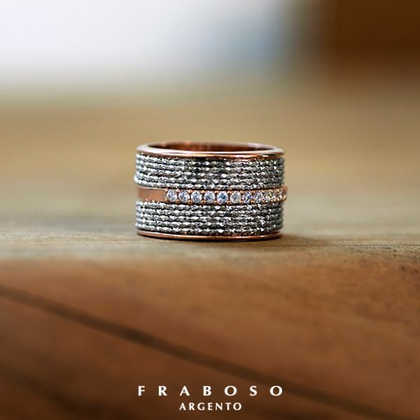 #Fraboso - #silver - #ring - 2015 Collection