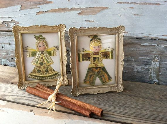 Check out this item in my Etsy shop https://www.etsy.com/listing/236246545/vintage-folk-art-fiber-art-german-wall