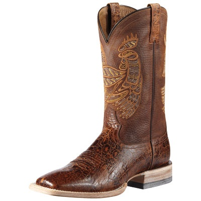 Ariat Rooster Tail Brown Cowboy Boots|All Mens Cowboy Boots