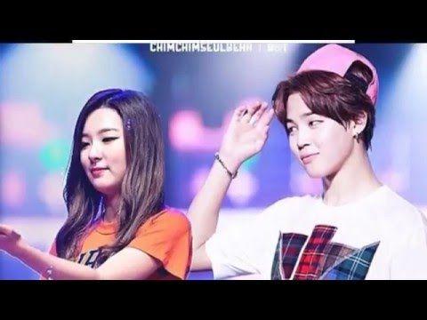 BangtanVelvet Couples [ SeulMin Couple ] - Red Velvet Seulgi x BTS Jimin...