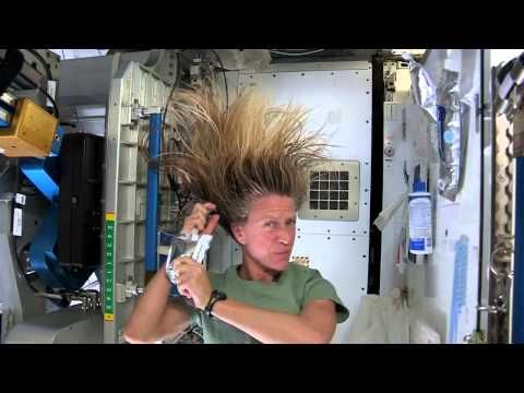 Astronaut Tips: How to Wash Your Hair in Space | Video - YouTube
