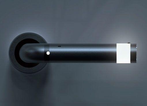 LED Door Handle And Detachable Flashlight