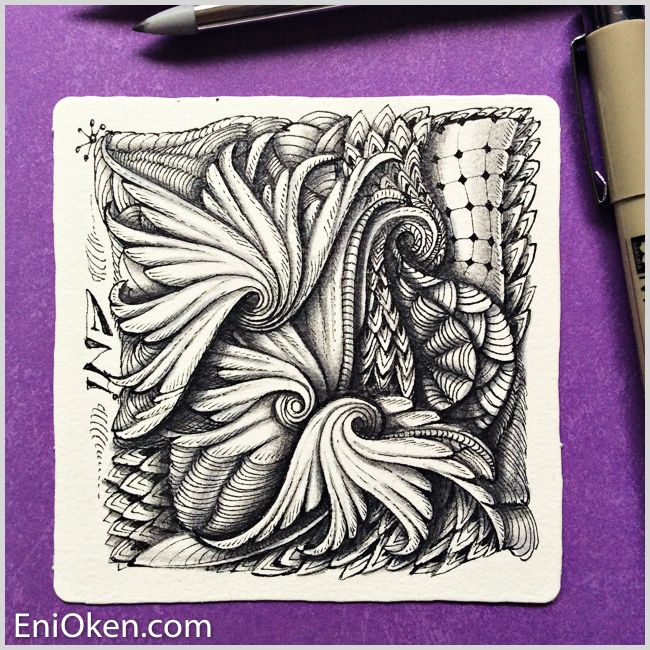 561 best zentangles images on pinterest doodles zentangle and learn to create amazing zentangle with eni okens ebooks and videos enioken fandeluxe Image collections