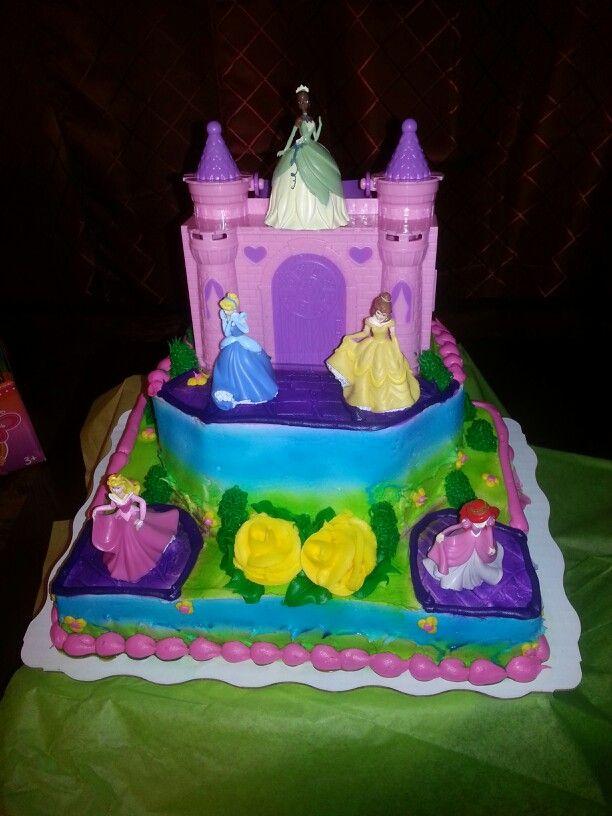Disney princess cake made by walmart Jazelle princess the frog