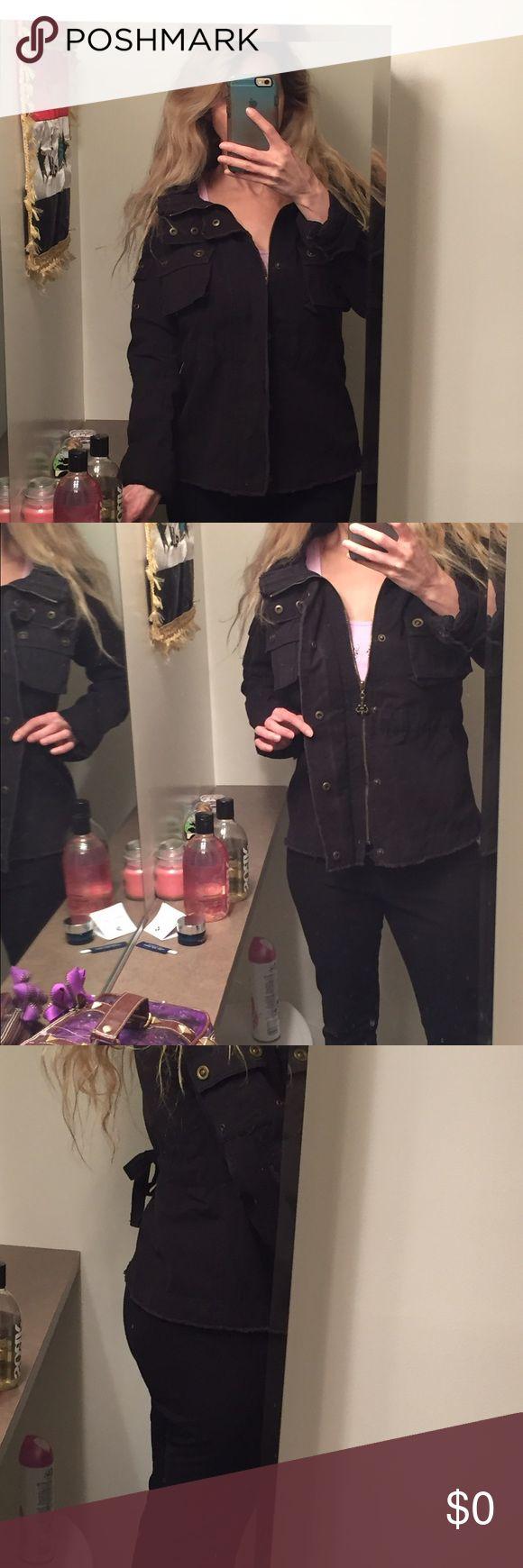 Nope just showing BB Dakota jacket BB Dakota Jackets & Coats Utility Jackets