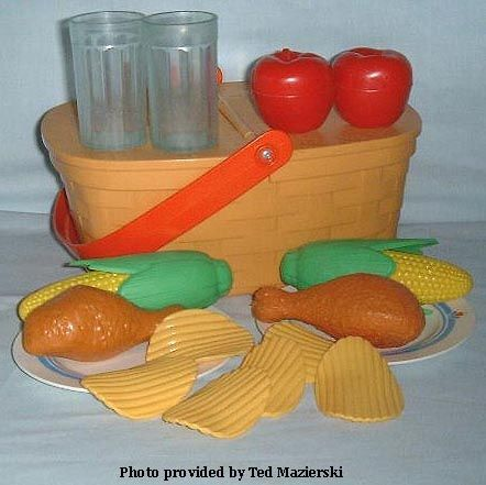 Fisher-Price Picnic Set. One of my fave toys! My mom still has this lol