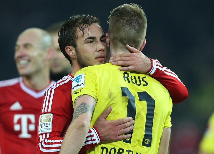 Götze und reus nackt | ... Bayern München: Mario Götze würde Wechsel von Marco Reus begrüßen
