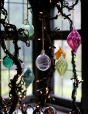 Hand Blown Glass Cane Toppers | The Balcony Gardener