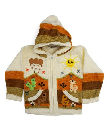 Another great find on #zulily! Cutest Cream Rain Cloud Zip-Up Hoodie - Infant, Toddler & Kids #zulilyfinds