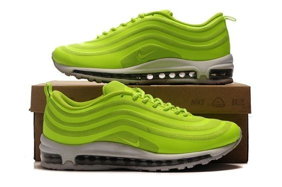 Nike Air Max 97 Hyperfuse Volt/Wit Schoenen,HOT SALE!