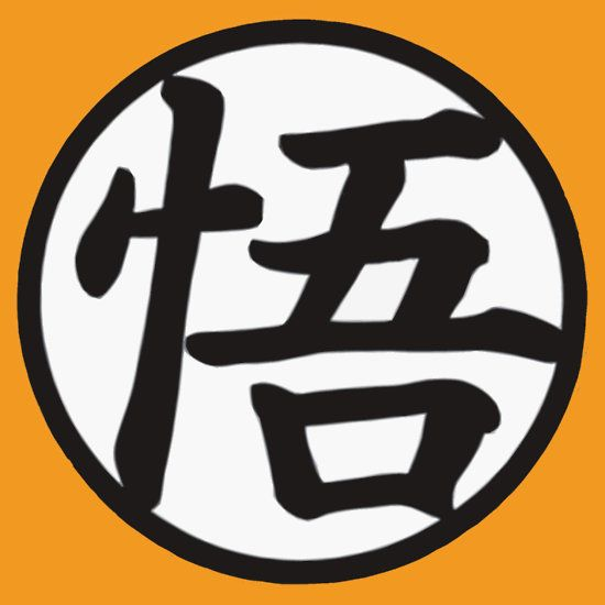 "Goku's kanji, 悟, pronounced Go (meaning ""wisdom"" or ""enlightenment"") is the kanji that Goku adopts after his training in preparation for the upcoming battles on Namek."