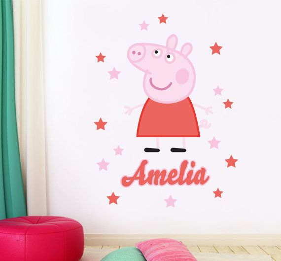 17 best images about peppa pig bedroom on pinterest for George pig bedroom ideas