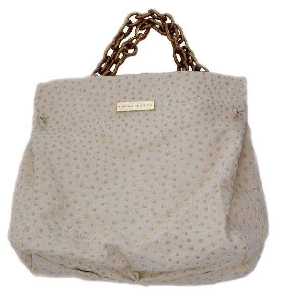 Ostrich leather  Adriana Orihuela Handbags