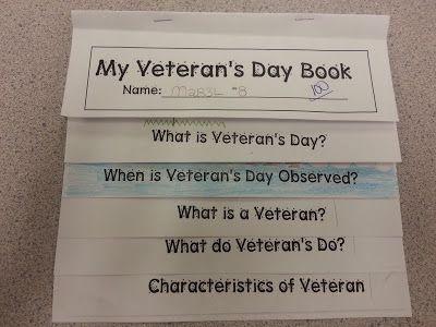 Ms. Winston's Blog: Veterans Day