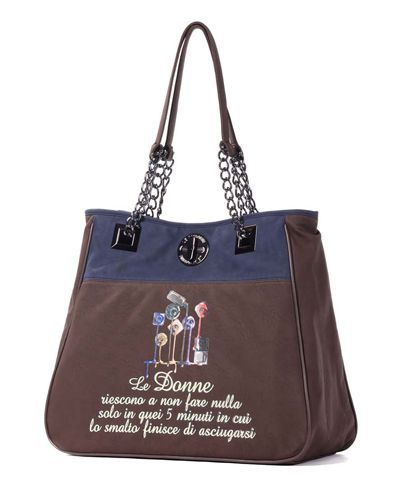 Le Pandorine - Borse - Shopping - Donna - CLASSIC2TONESSmalti - FASHIONQUEEN.NET    #Le Pandorine #Smalti #Fashionqueen